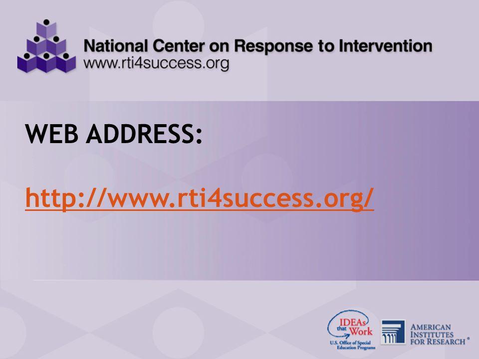 RTI Center Presentation for the SPDGs