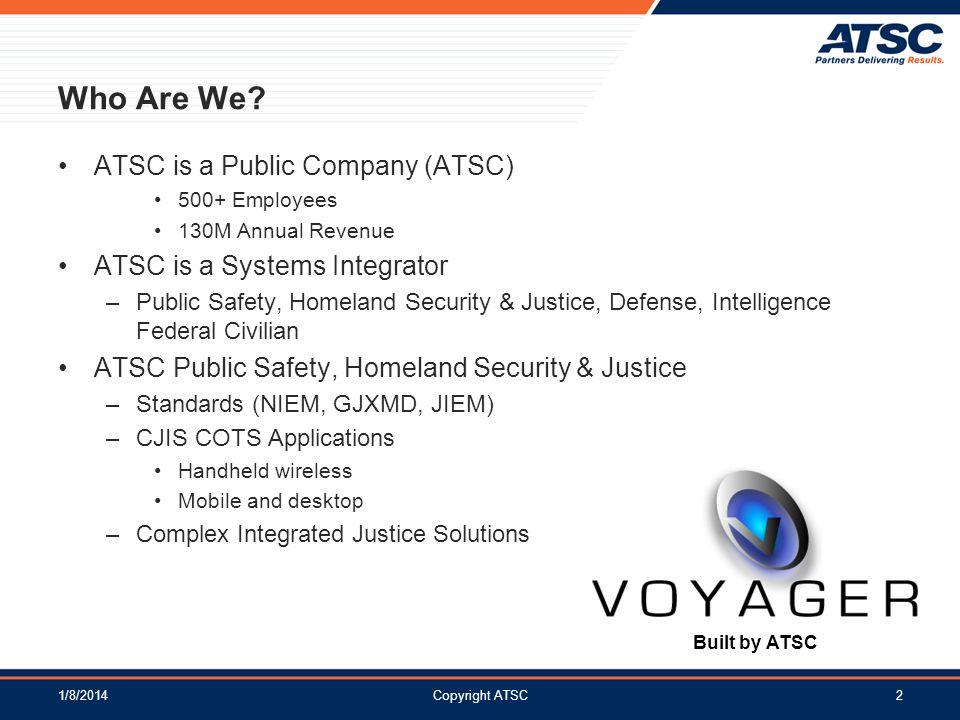 Who Are We ATSC is a Public Company (ATSC)