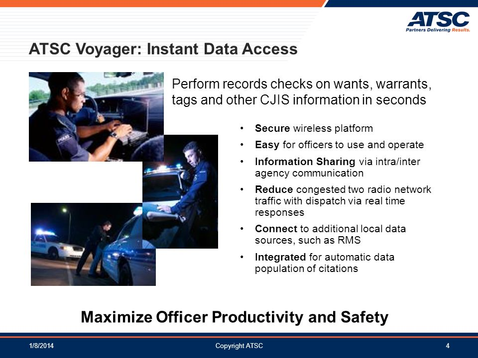 Maximize Officer Productivity and Safety