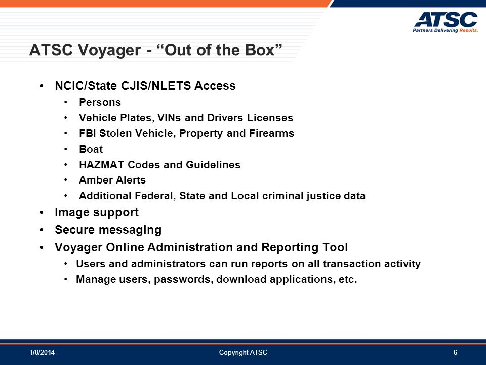 ATSC Voyager - Out of the Box