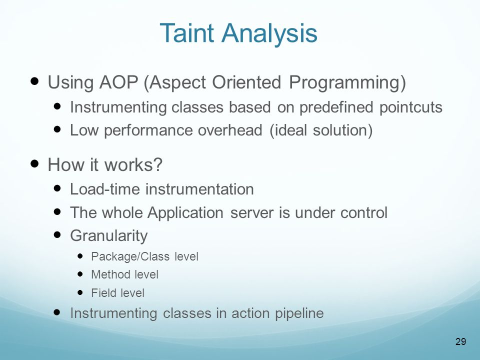 What is AOP Crosscutting concerns: