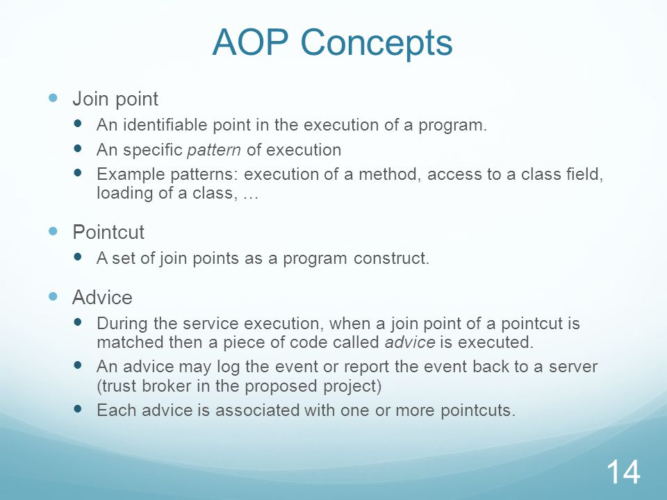Experience with AOP for End-to-End Cloud Service Security