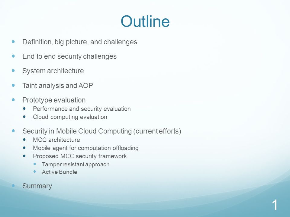 Mobile-Cloud Computing Definition
