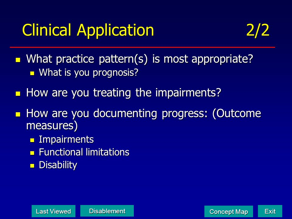 Clinical Application 2/2