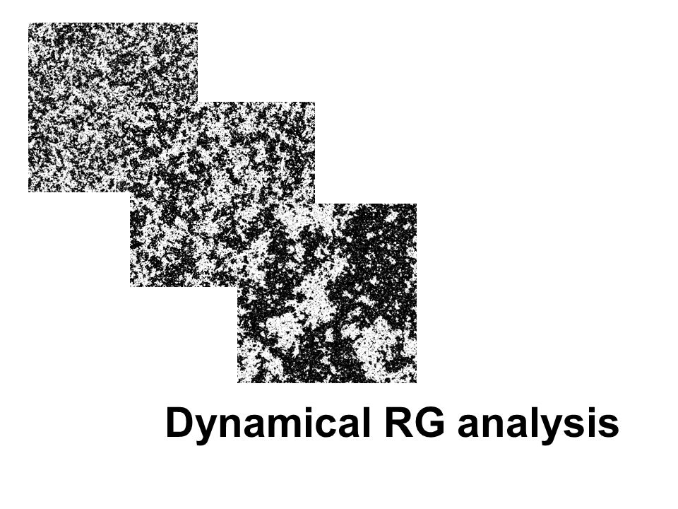 Dynamical RG analysis