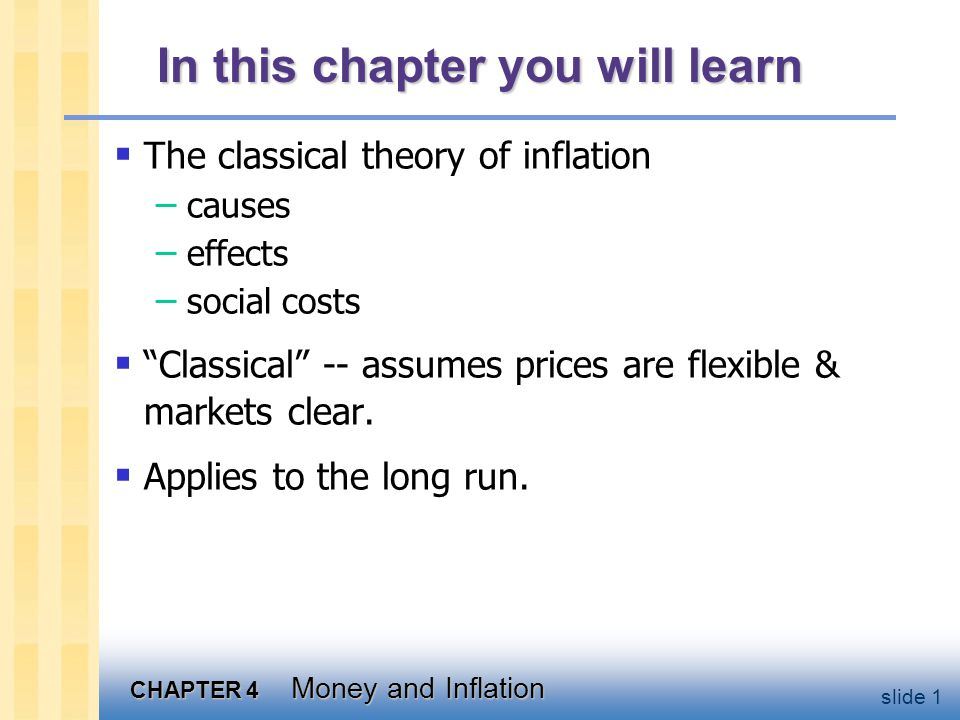 U.S. inflation & its trend, 1960-2003
