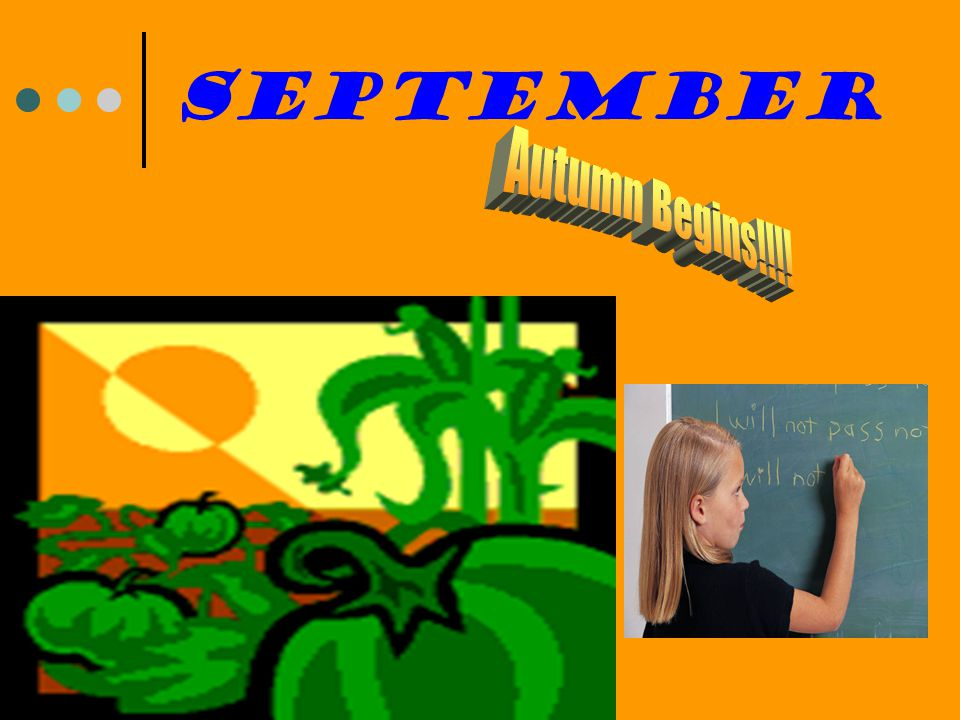 September Autumn Begins!!!!