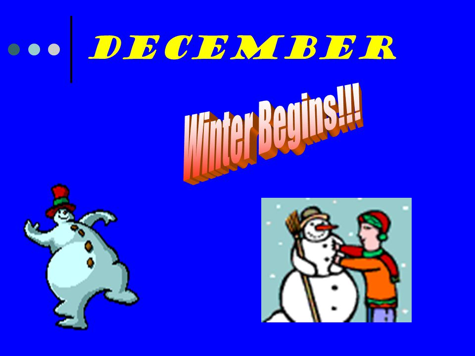 December Winter Begins!!!