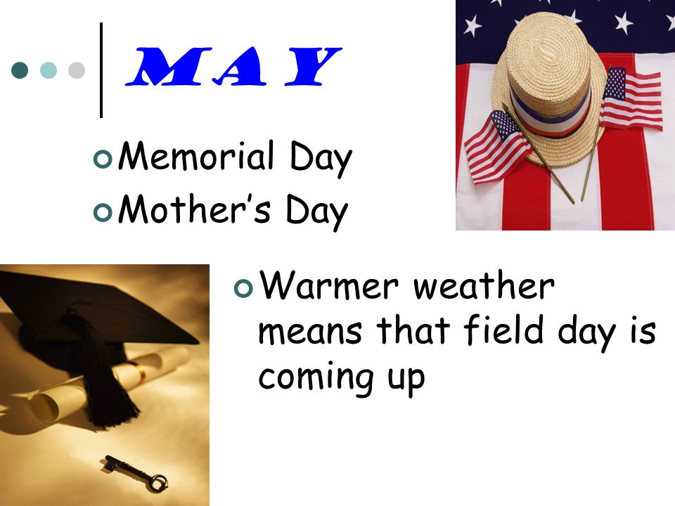 May Memorial Day Mother's Day