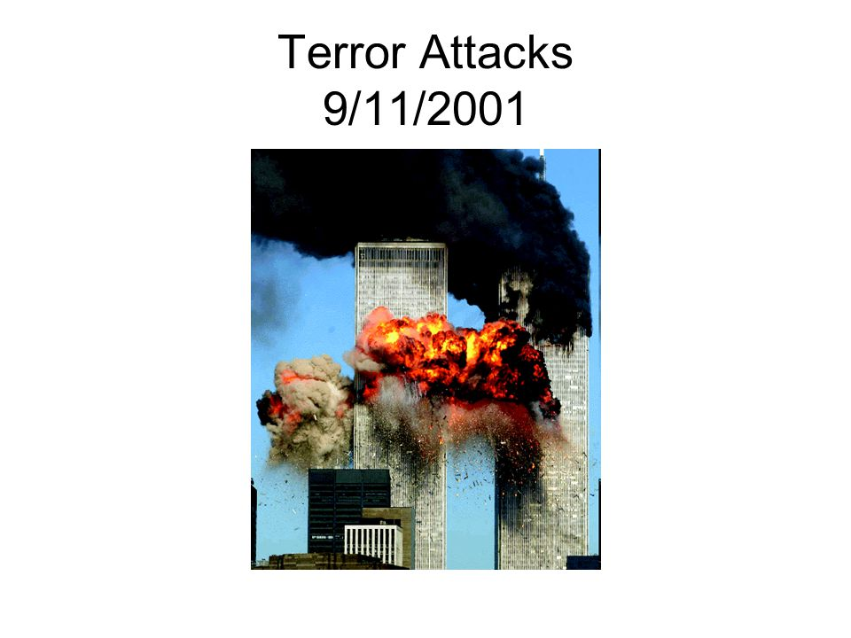 Terror Attacks 9/11/2001