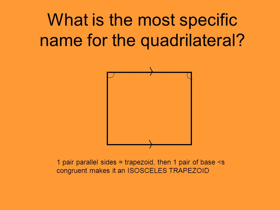 What is the most specific name for the quadrilateral