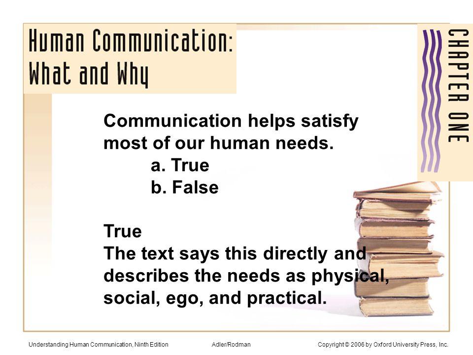 Adler/Rodman Copyright © 2006 by Oxford University Press, Inc.