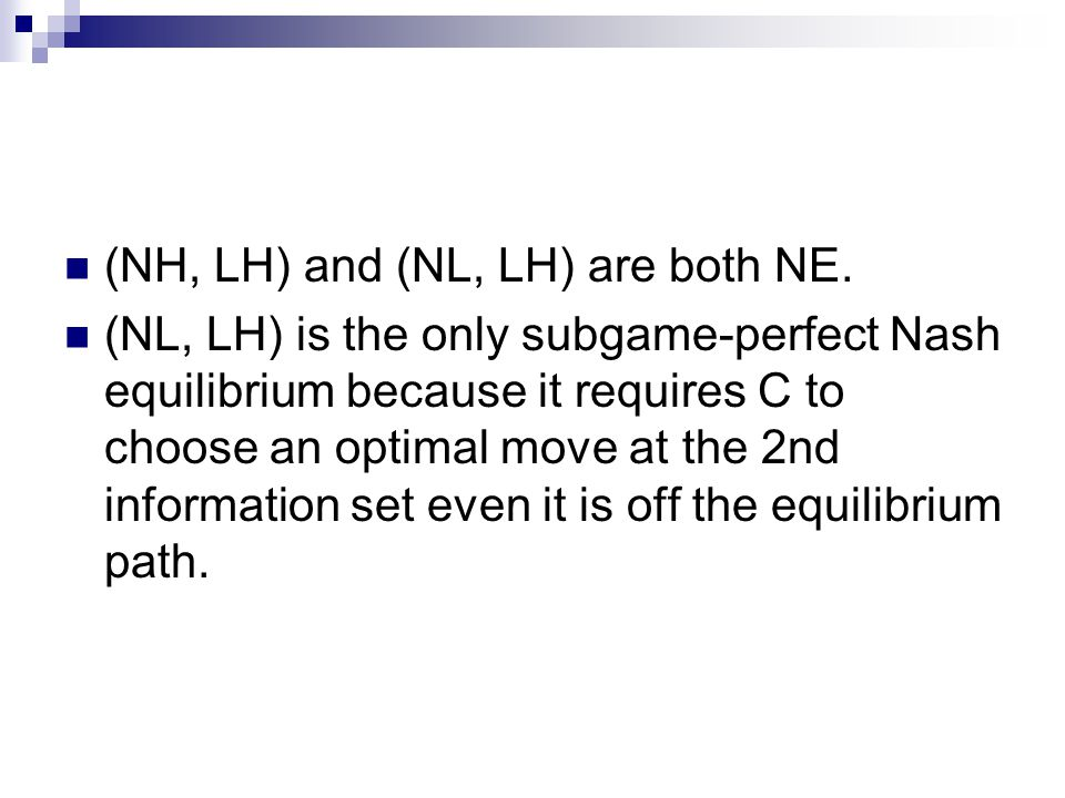 (NH, LH) and (NL, LH) are both NE.