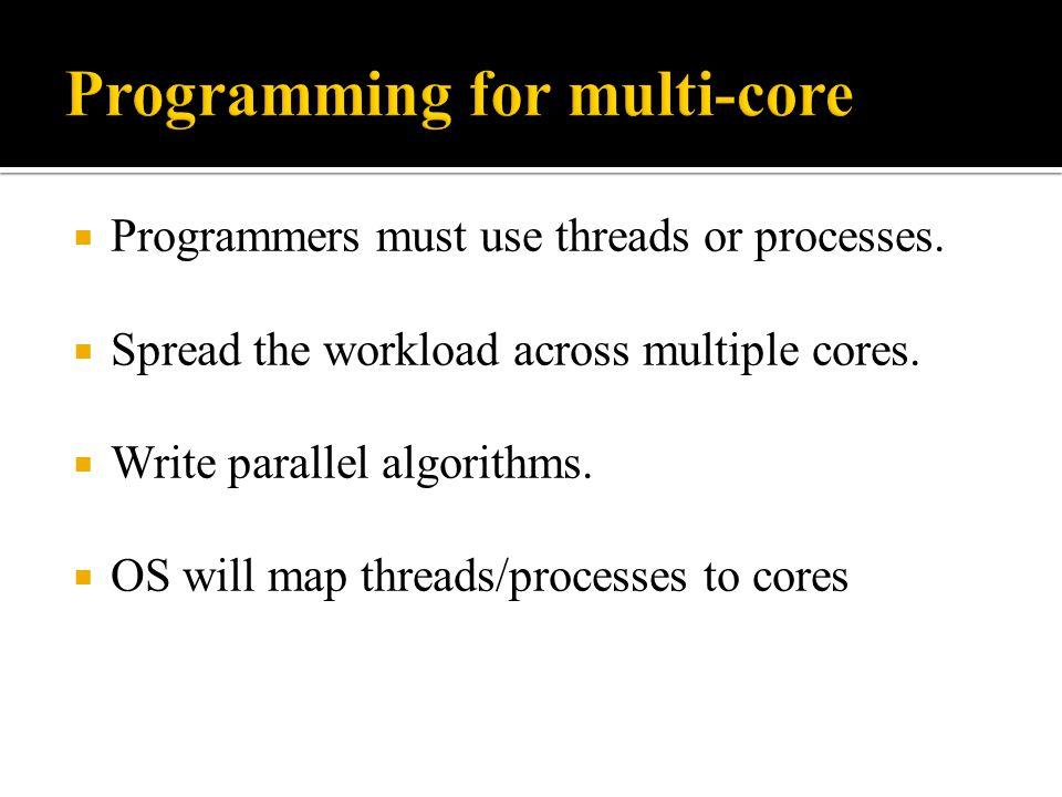 Programming for multi-core