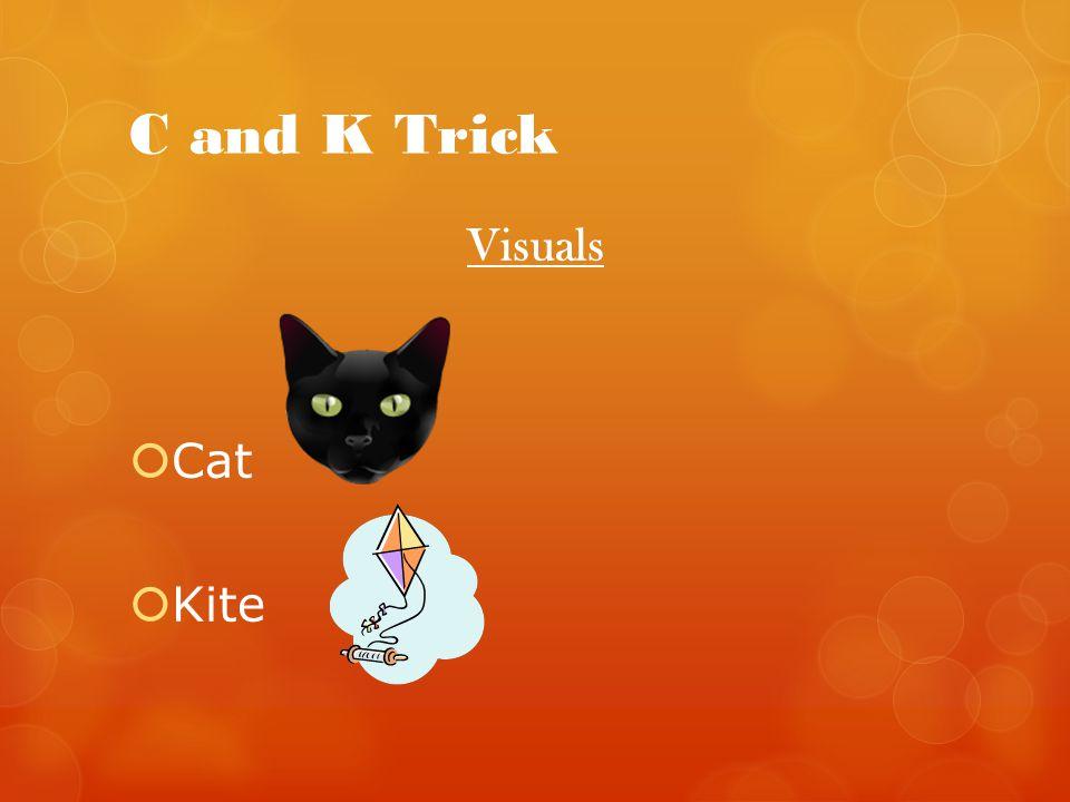 C and K Trick Visuals Cat Kite