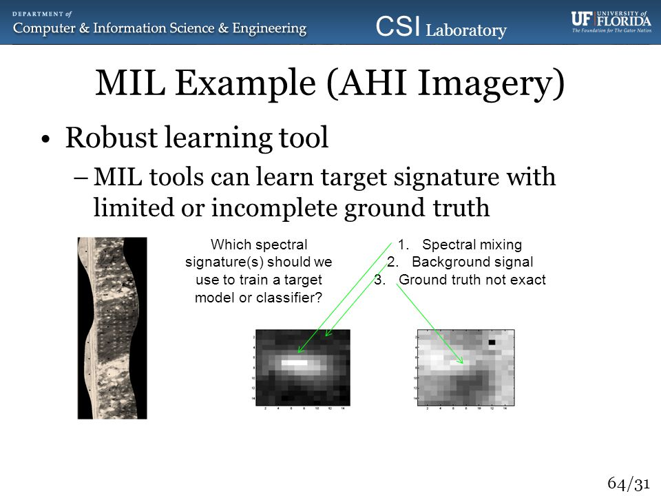 MIL Example (AHI Imagery)