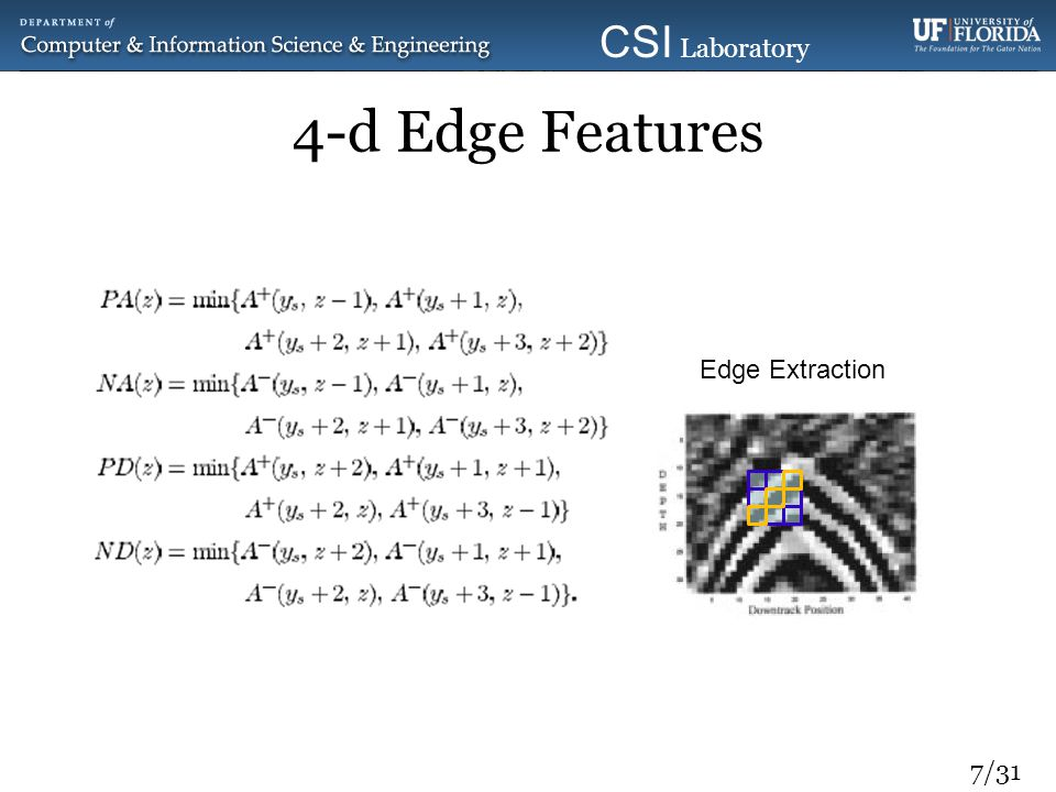 4-d Edge Features Edge Extraction