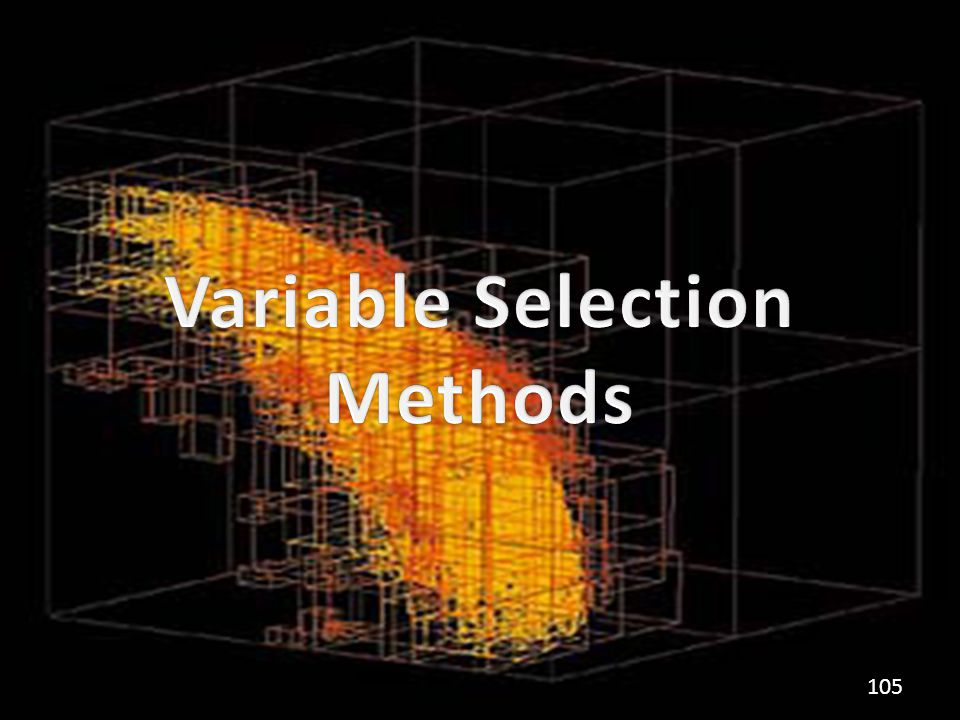 Variable Selection Methods