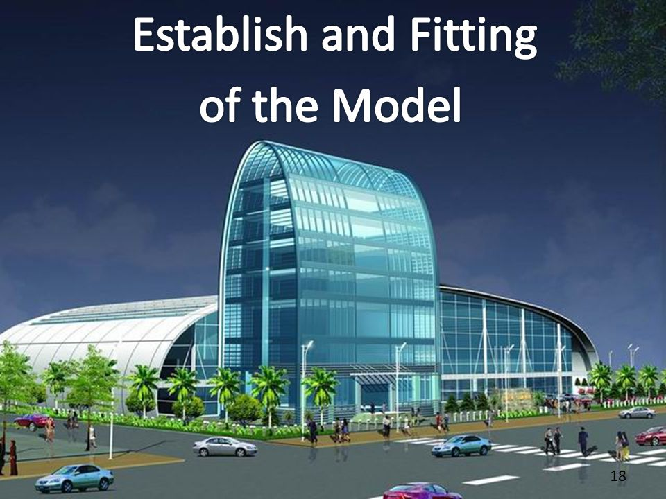 Establish and Fitting of the Model