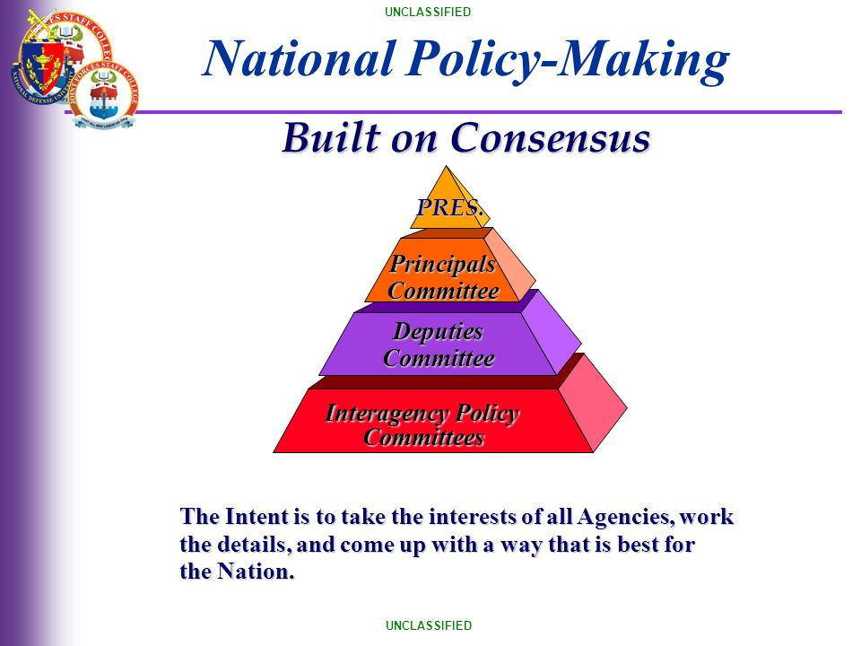National Policy-Making