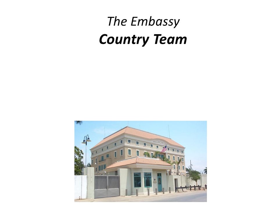 The Embassy Country Team