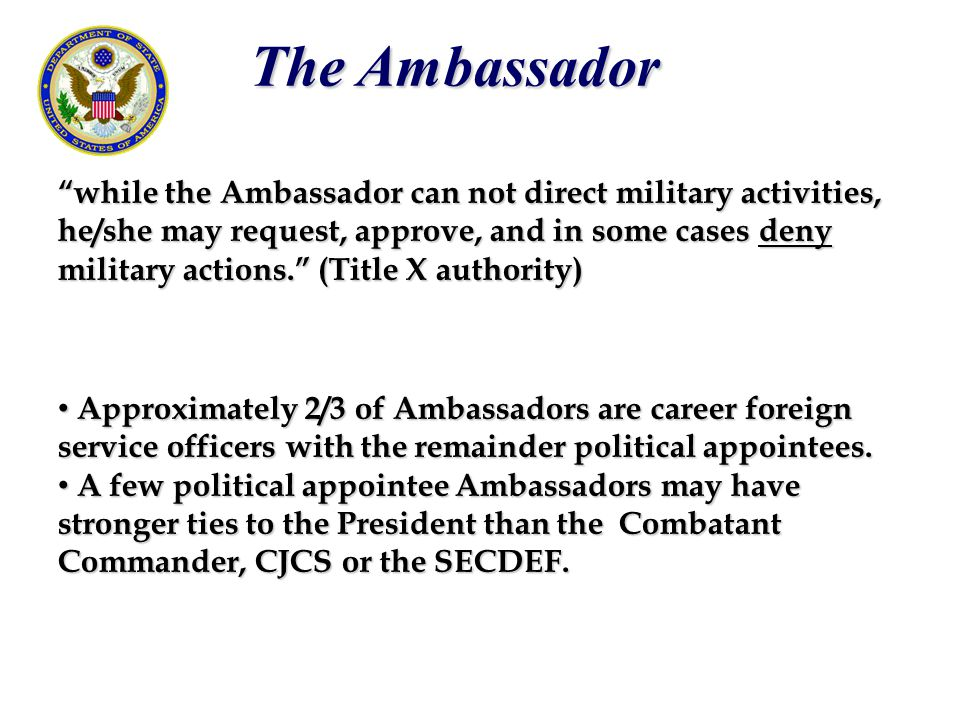 The Ambassador