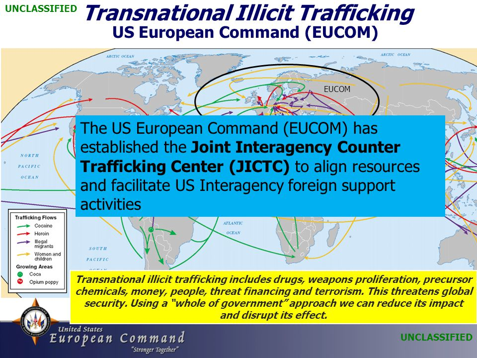 Transnational Illicit Trafficking US European Command (EUCOM)