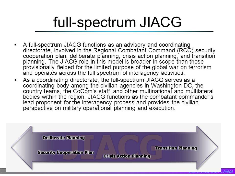 full-spectrum JIACG