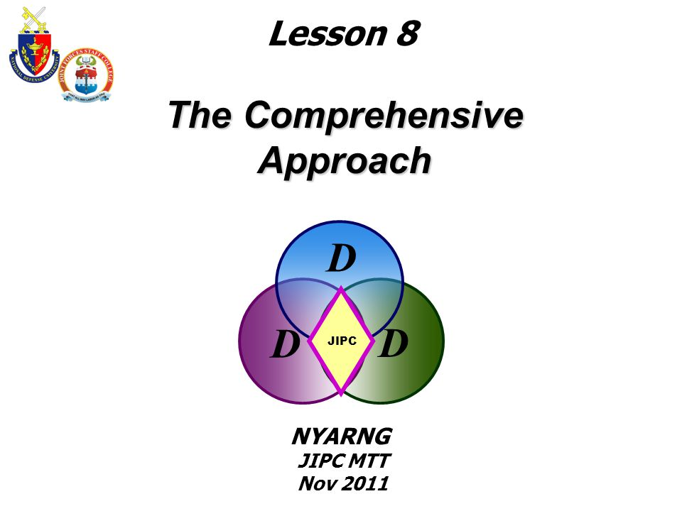 The Comprehensive Approach