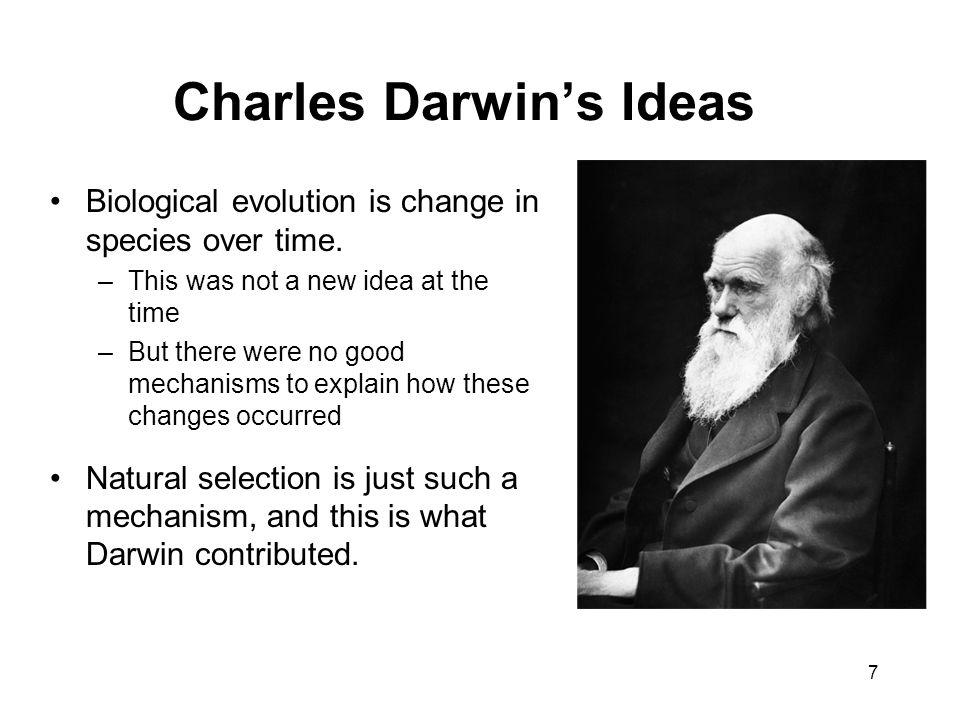 Charles Darwin's Ideas