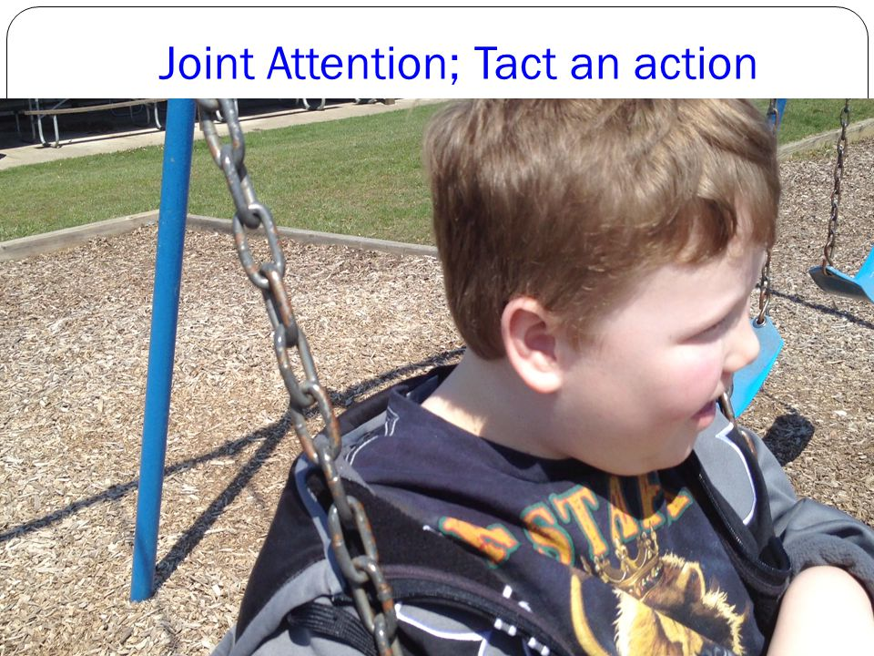 Joint Attention; Tact an action