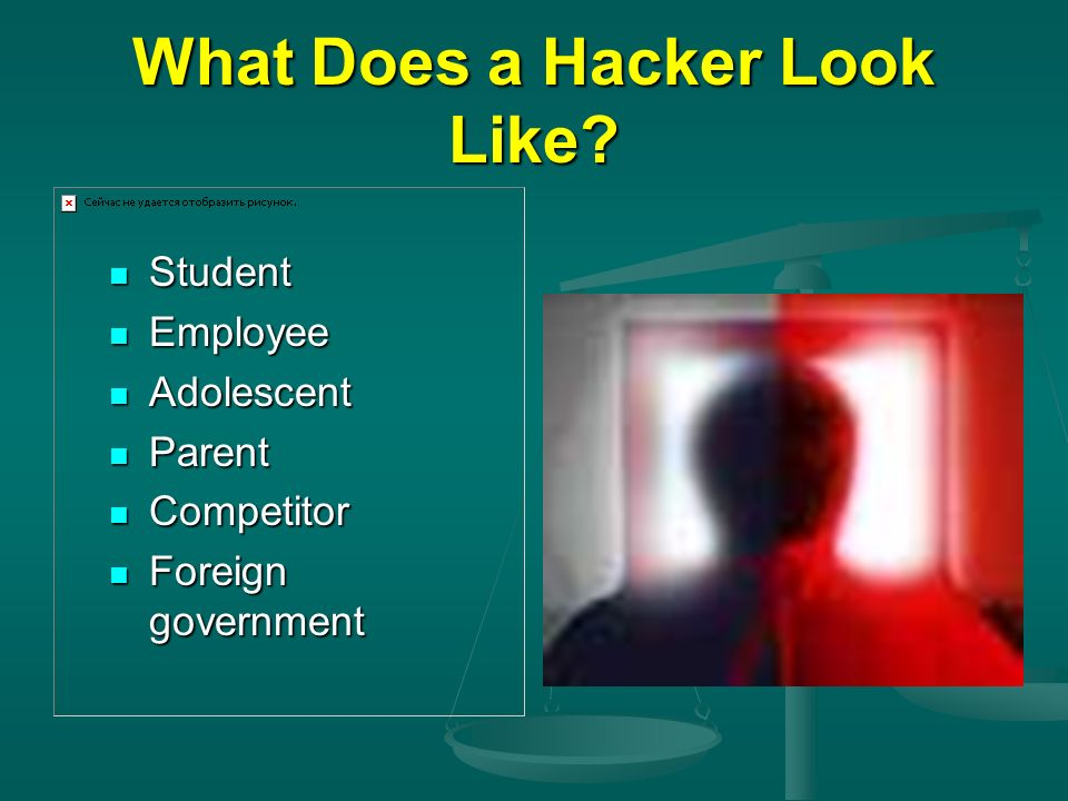 What Does a Hacker Look Like