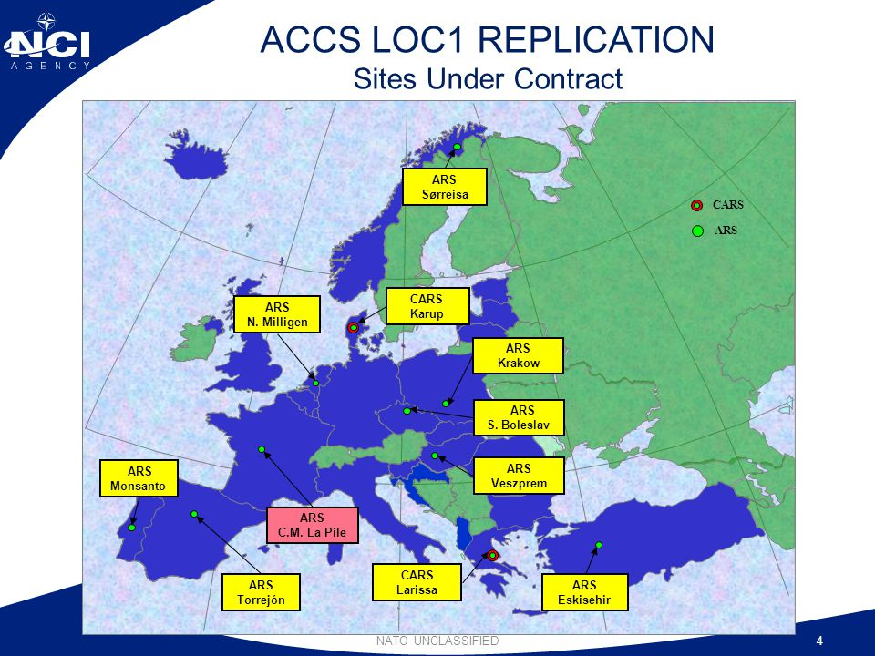 ACCS LOC1 REPLICATION Sites Under Contract
