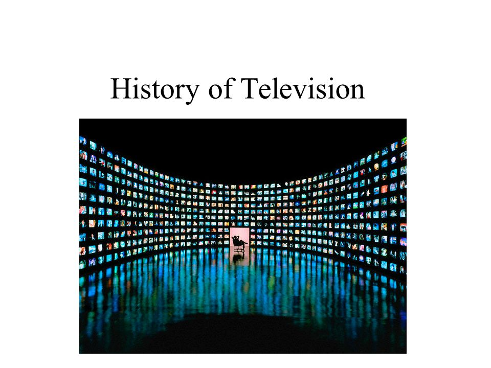 history of t v History of television also, the v-chip imbedded in new television sets, in accordance with a provision of a telecommunications bill passed in 1996.