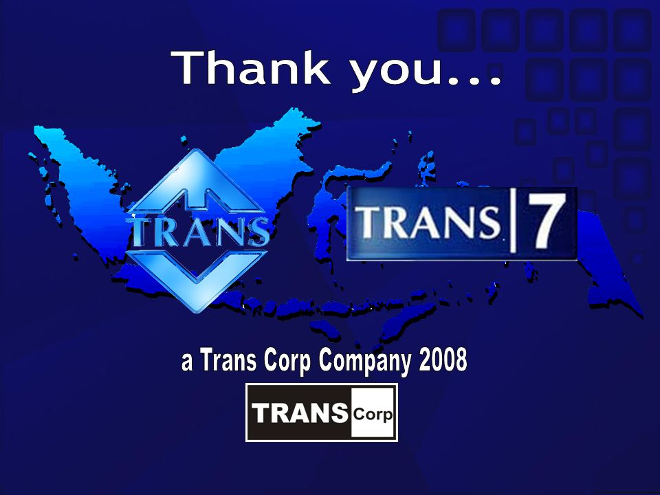 Thank you... a Trans Corp Company 2008