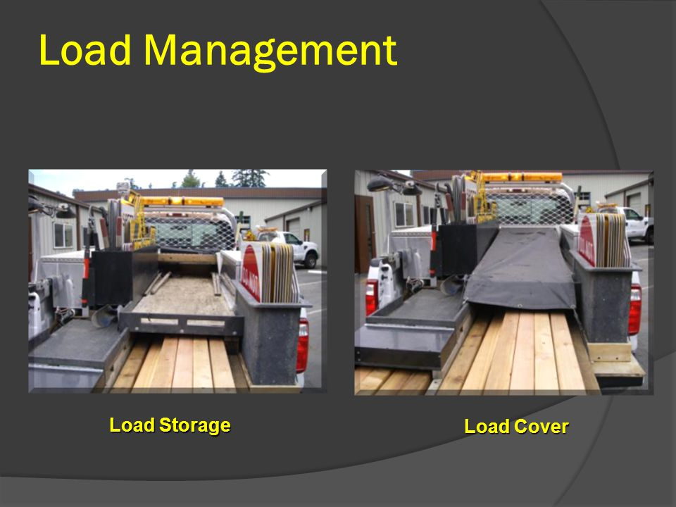 Load Management Load Storage Load Cover