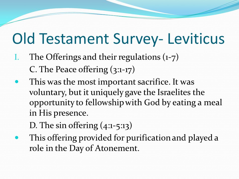 the atonement of sin in the old testament Help support new advent and the atonement of sin in the old testament get the full contents of this website as an instant download redemption means either strictly deliverance by payment of.