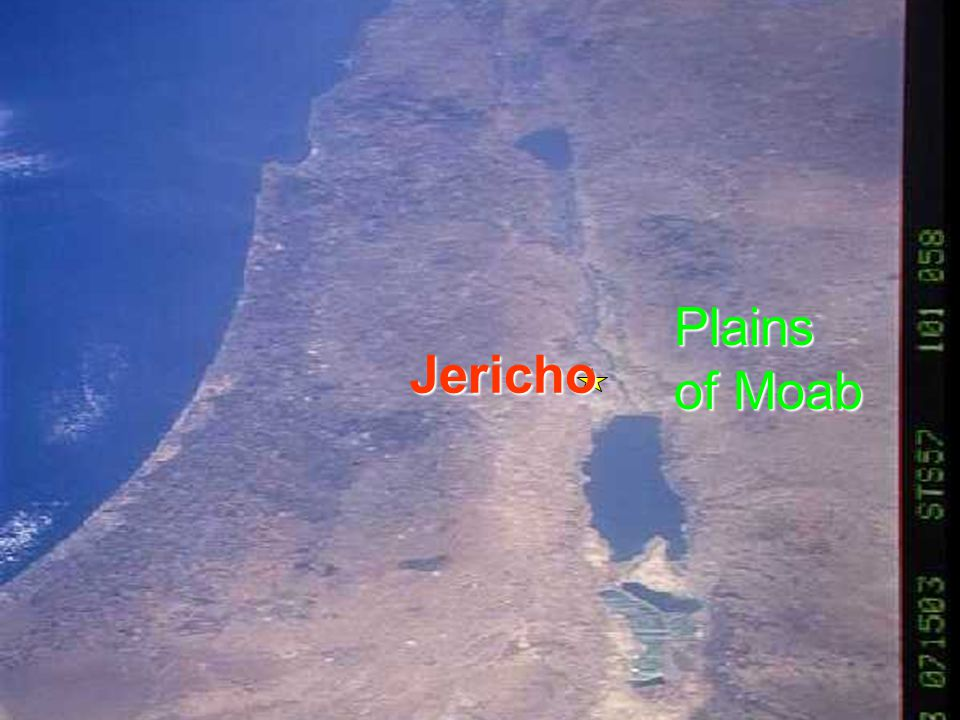 Plains of Moab Jericho