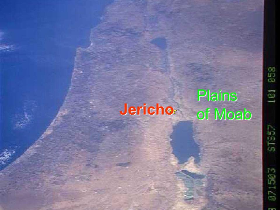 Plains of Moab Jericho 94