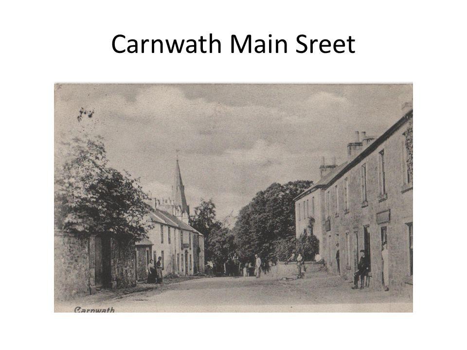 Carnwath Main Sreet