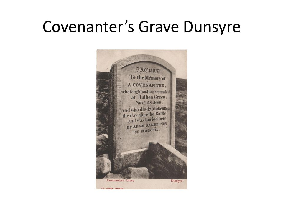 Covenanter's Grave Dunsyre