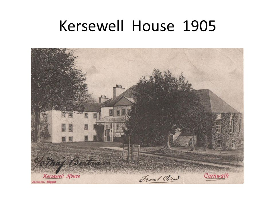 Kersewell House 1905