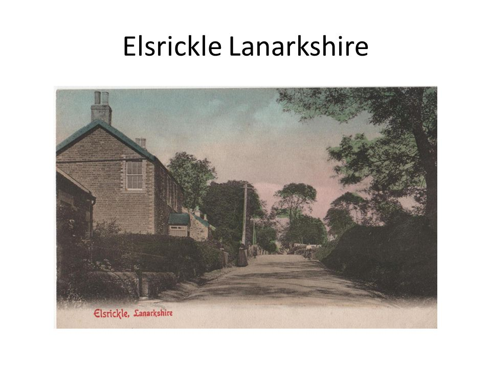 Elsrickle Lanarkshire