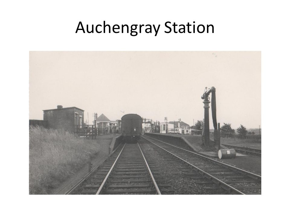 Auchengray Station