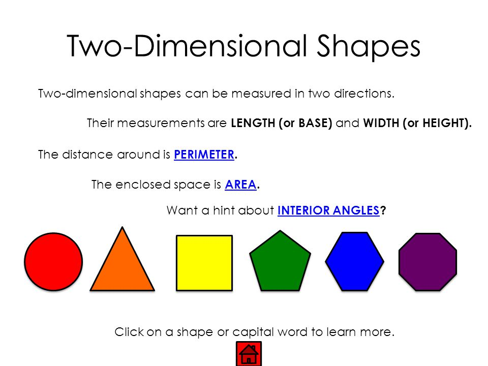 Two-Dimensional Shapes