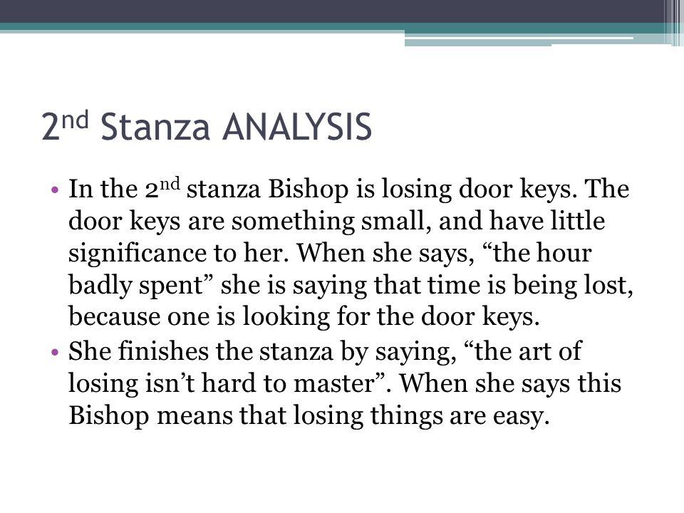 2nd Stanza ANALYSIS