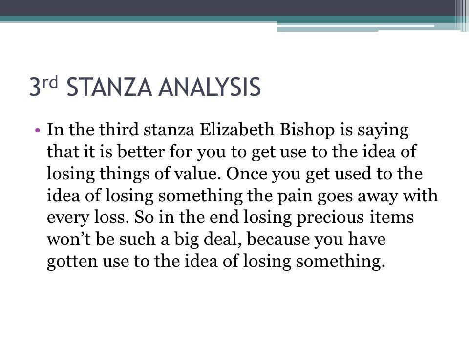 3rd STANZA ANALYSIS
