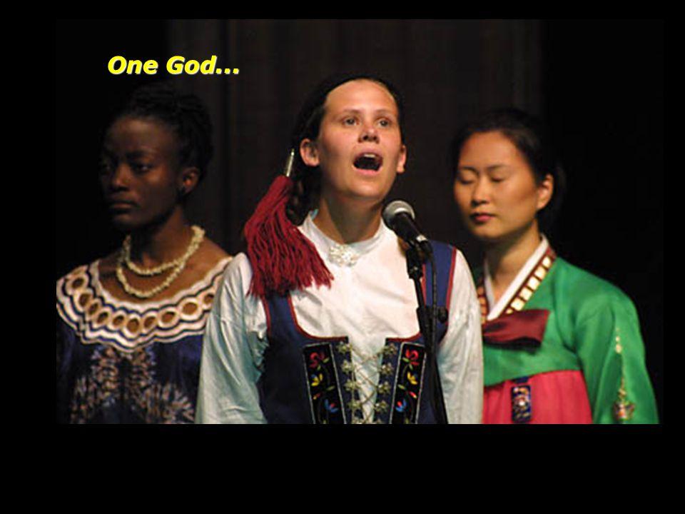 One God...
