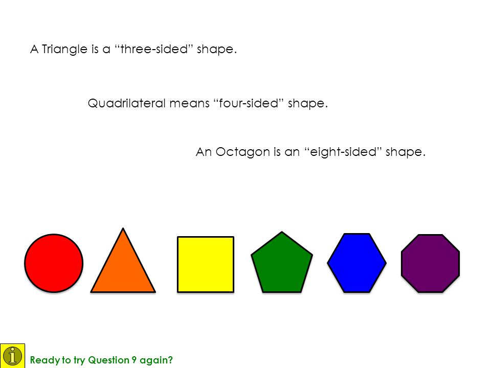 A Triangle is a three-sided shape.