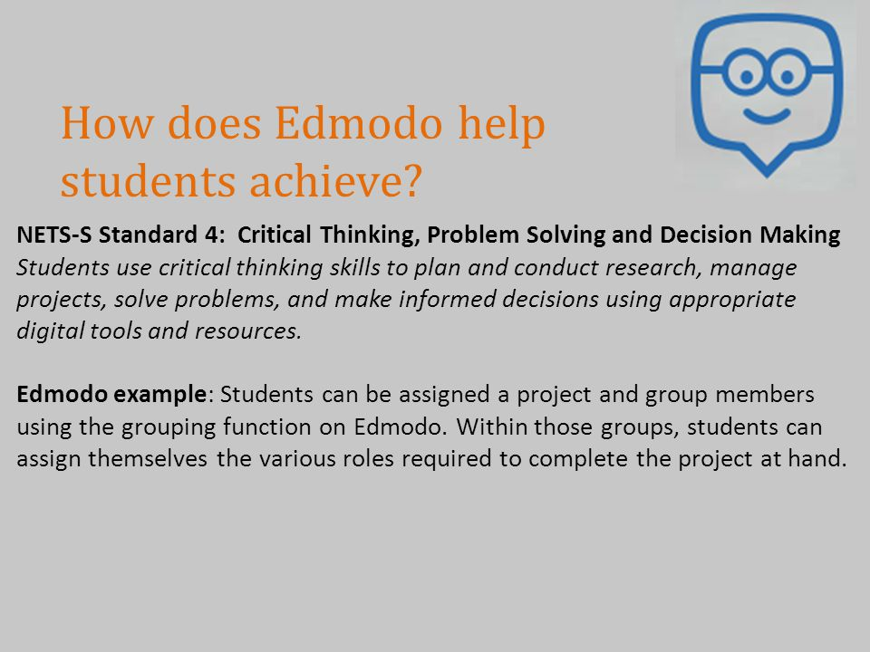 How does Edmodo help students achieve